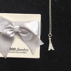 Jewelry - 💗Sterling silver Eiffel Tower necklace